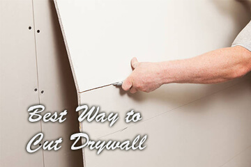 Best Way to Cut Drywall