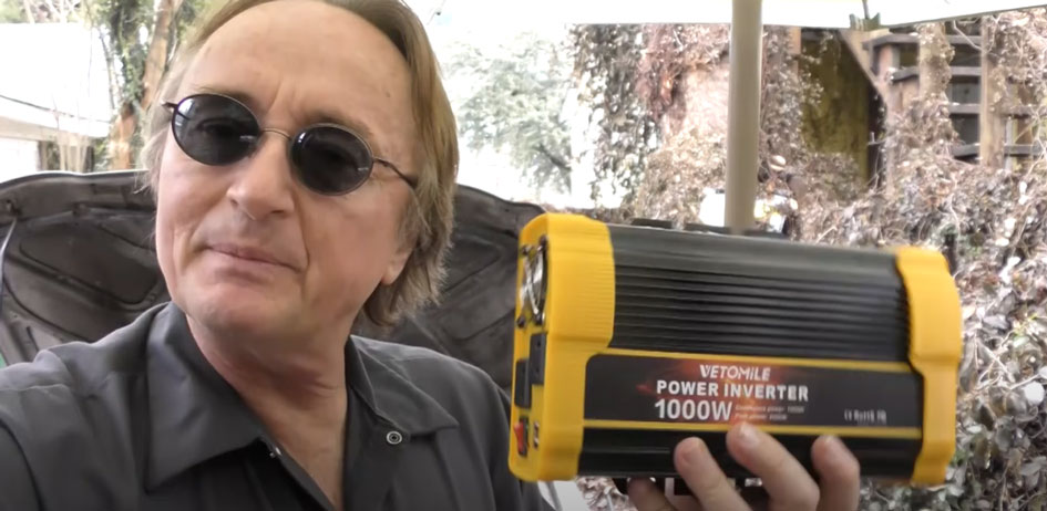 Get a good quality power inverter
